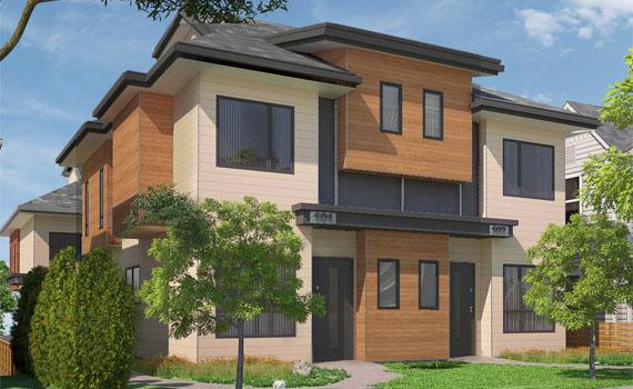 Quattro custom home
